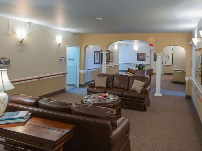 lounge at St. Andrews Memory Care in Portland, OR