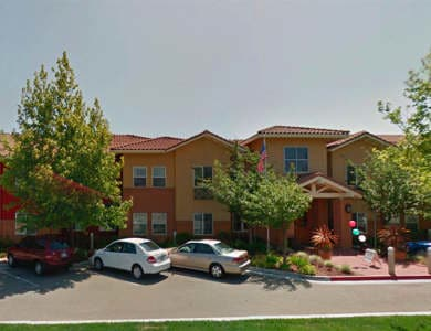 Front view of Pacifica Senior Living Union City