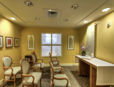 Activity room at Pacifica Senior Living Union City