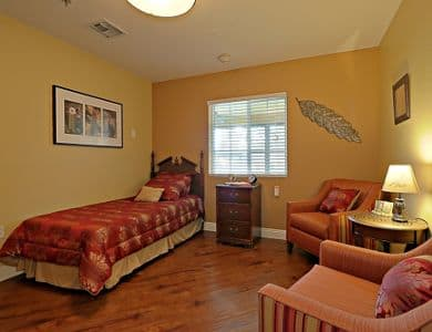 Bedroom at Pacifica Senior Living Tucson