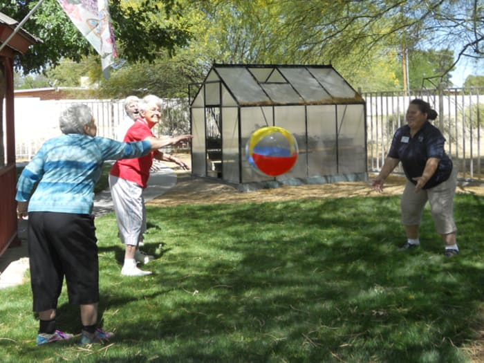 Volleyball at Pacifica Senior Living Tucson