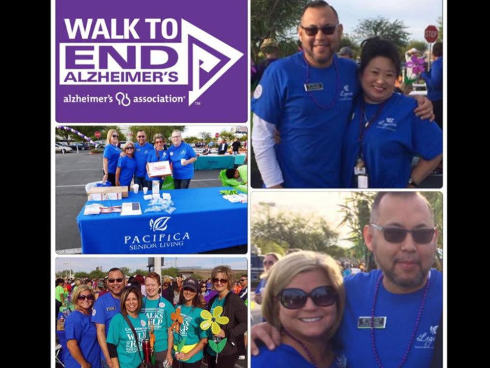 Walk to End Alzheimer's Fundraiser