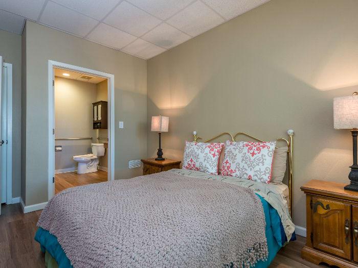 Bedroom at Pacifica Senior Living Santa Fe