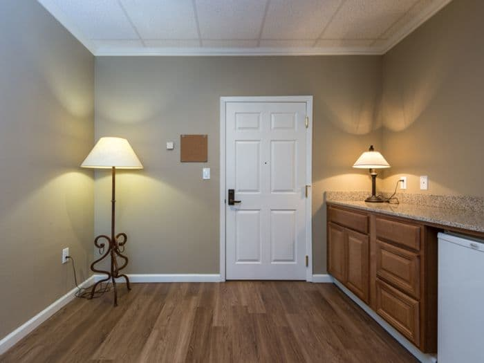 spacious room at Pacifica Senior Living Santa Fe in Santa Fe, NM