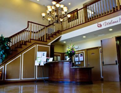 main foyer at Pacifica Senior Living Santa Clarita