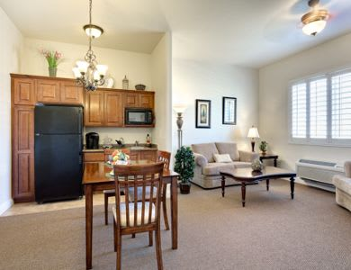 Resident's apartment at Pacifica Senior Living San Martin in Las Vegas, NV