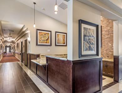 Pacifica Senior Living Regency offers a beautiful lobby in Las Vegas, NV