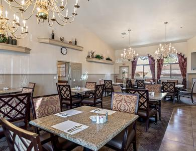 Dining room at Pacifica Senior Living Regency in Las Vegas, NV