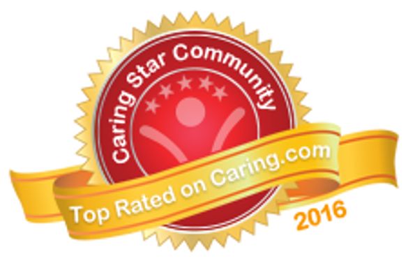 2016 Caring Senior Community award for Pacifica Senior Living Regency