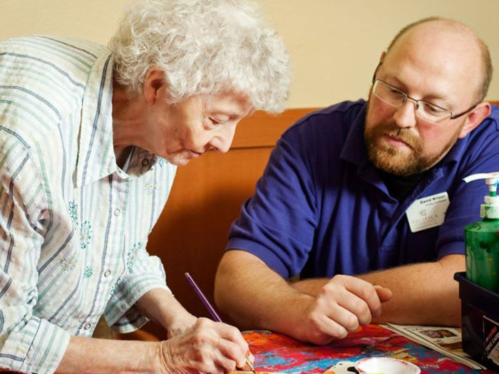 Adult daycare at Pacifica Senior Living Portland
