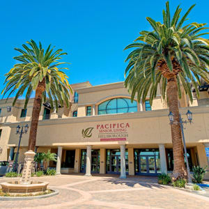 Pacifica Senior Living Hillsborough exterior
