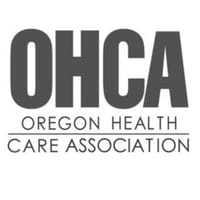 Oregon Health Care Association emblem