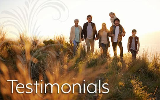 Read testimonials about Pacifica Senior Living