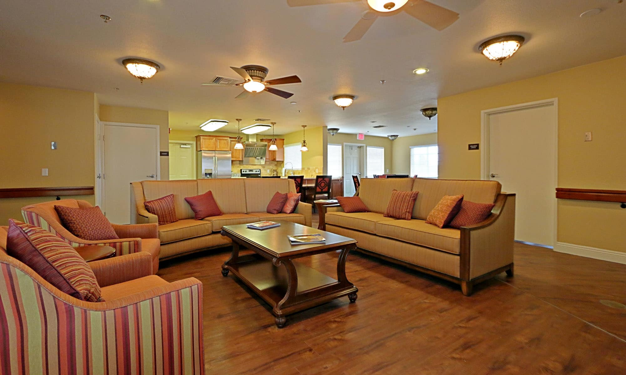 Pacifica Senior Living Peoria interior lobby