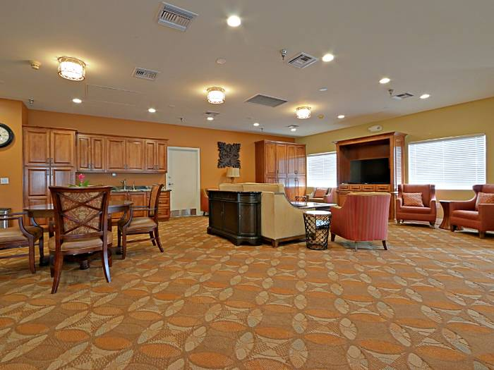 beautiful living room at Pacifica Senior Living Peoria in Peoria, AZ