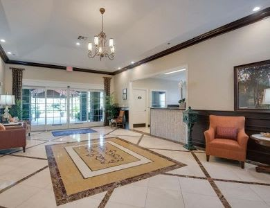 main foyer at Pacifica Senior Living Ocala