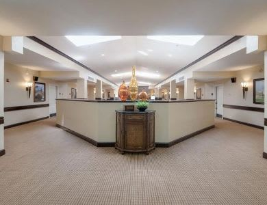 luxurious hall at Pacifica Senior Living Ocala