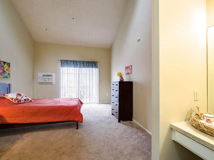 Enjoy a private bathroom at Pacifica Senior Living Northridge