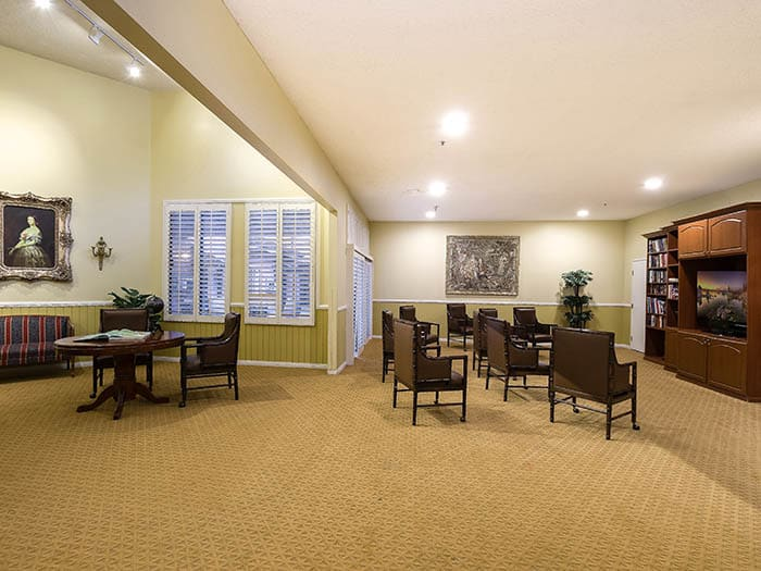 Pacifica Senior Living Northridge has space for all your gatherings