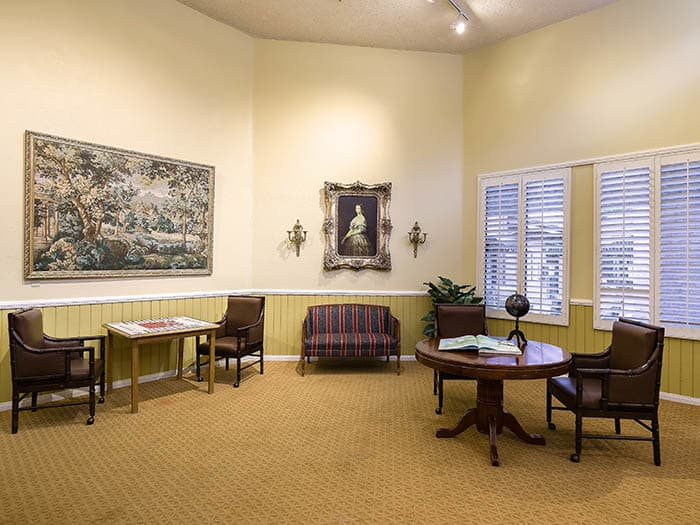 Stop on by after a nice day of activities at Pacifica Senior Living Northridge