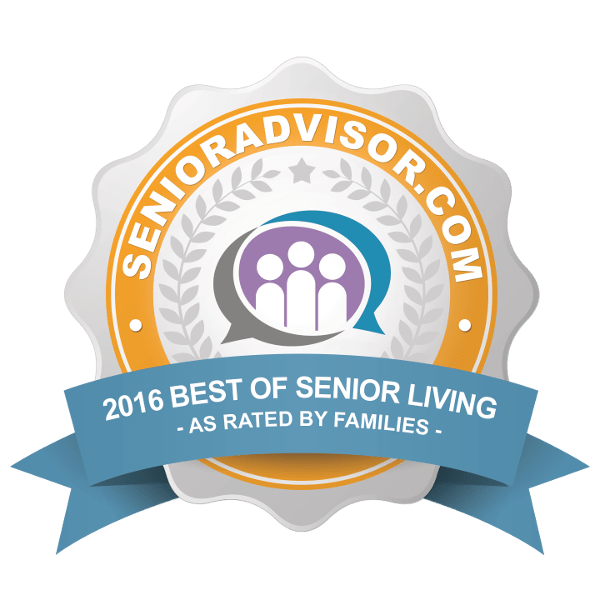Award 2017 to Pacifica Senior Living Newport Mesa