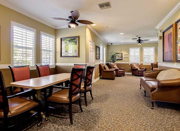 Great spaces to grab with friends at Pacifica Senior Living Newport Mesa