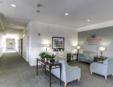 Lobby at Pacifica Senior Living Mission Villa