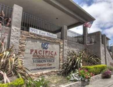 Welcome to Pacifica Senior Living Mission Villa in Daly City, CA