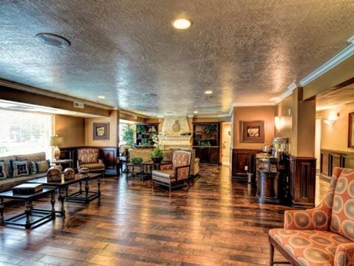 Spacious lounge at Pacifica Senior Living Millcreek