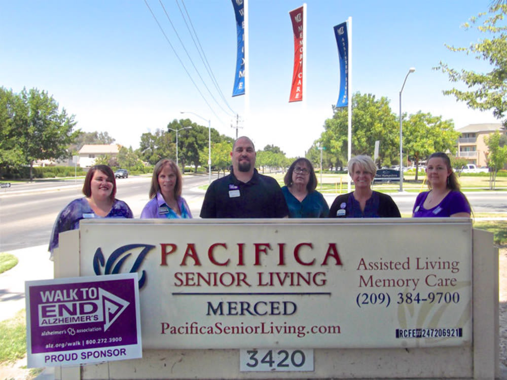 Pacifica Senior Living Merced gives back to the community