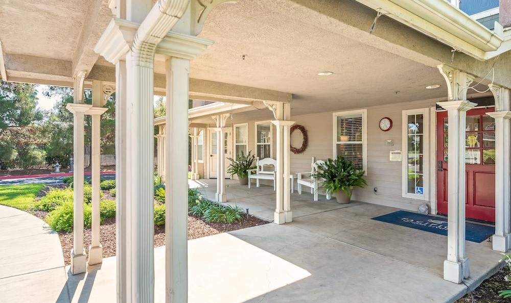 Beautiful clubhouse at Pacifica Senior Living Merced in Merced, CA