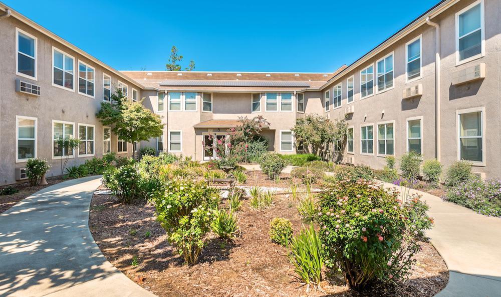 Unique  apartments building in Merced, CA