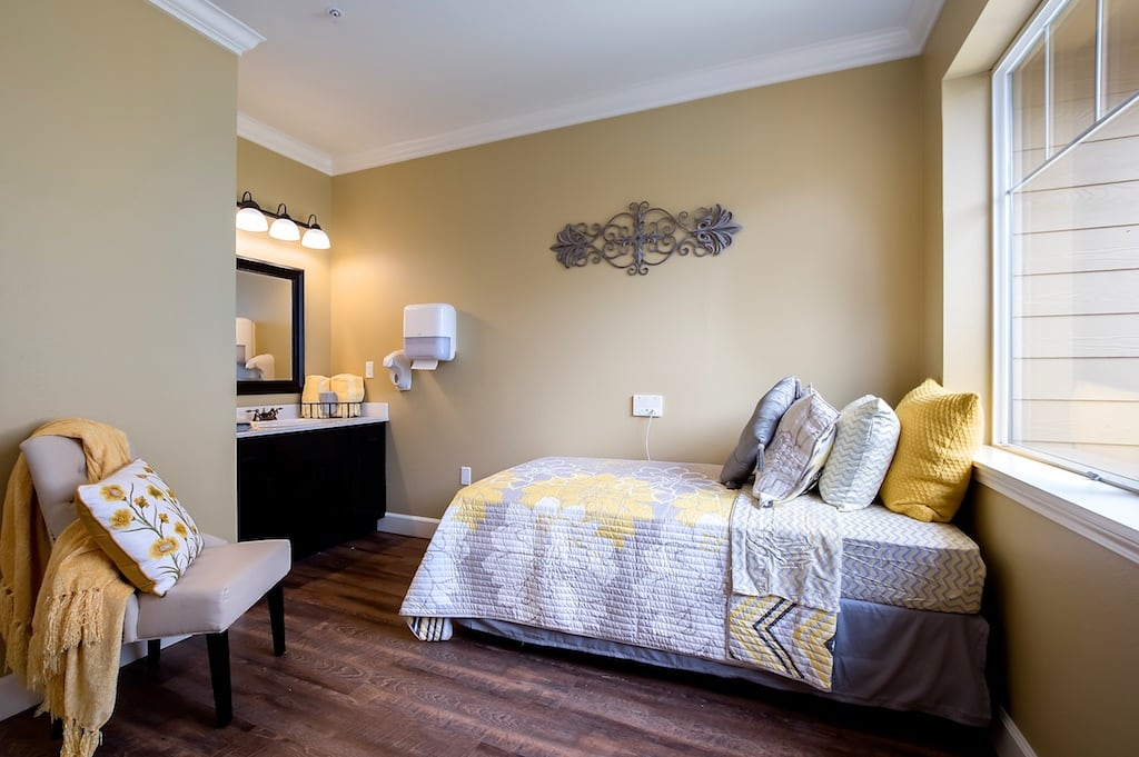 Fancy private suite at Pacifica Senior Living McMinnville