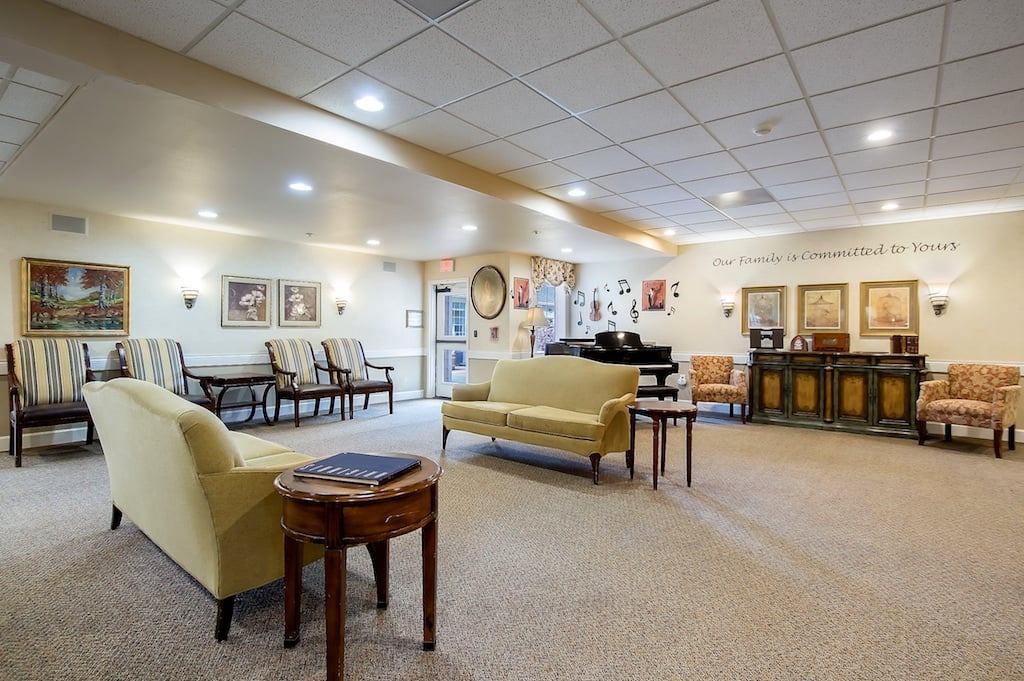 Recreation and Music area at Pacifica Senior Living McMinnville