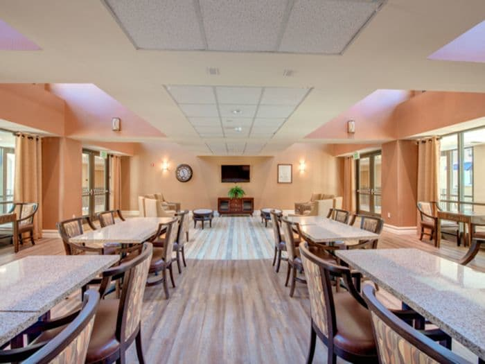 Conference room at Pacifica Senior Living Hillsborough