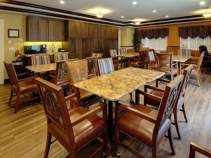 Dinner room at Pacifica Senior Living Fort Myers