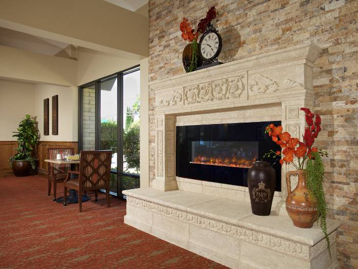 Entertainment room at Pacifica Senior Living Escondido