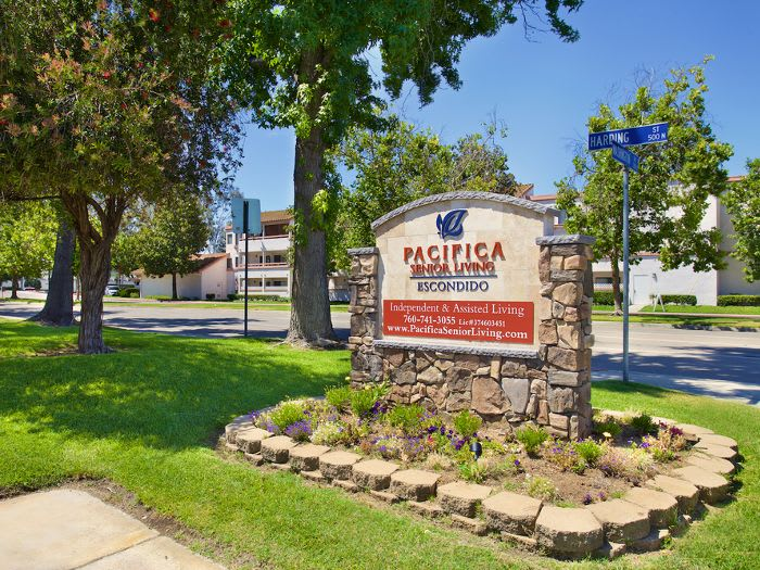 Exterior at Pacifica Senior Living Escondido