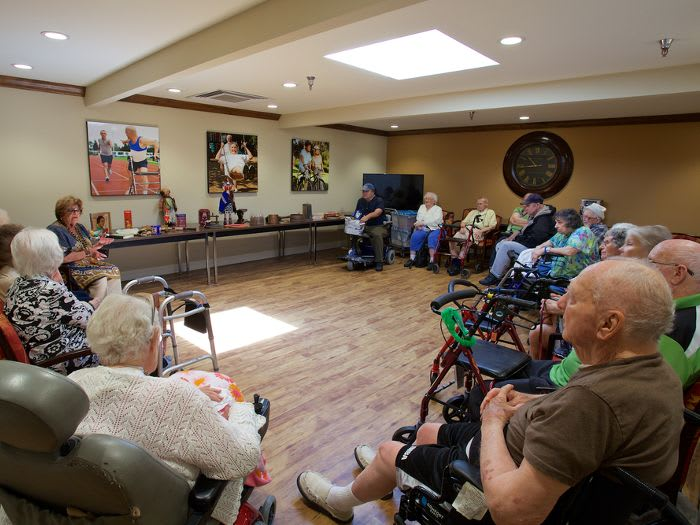 Social activities at Pacifica Senior Living Escondido