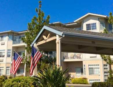 Exterior view at Pacifica Senior Living Country Crest