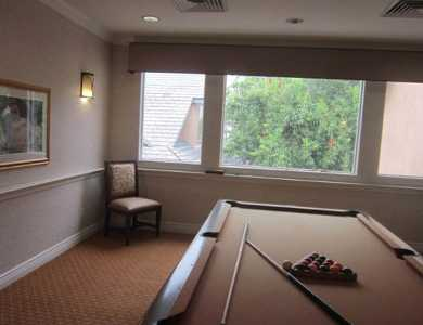 Enjoy playing billiard at Pacifica Senior Living Chino Hills