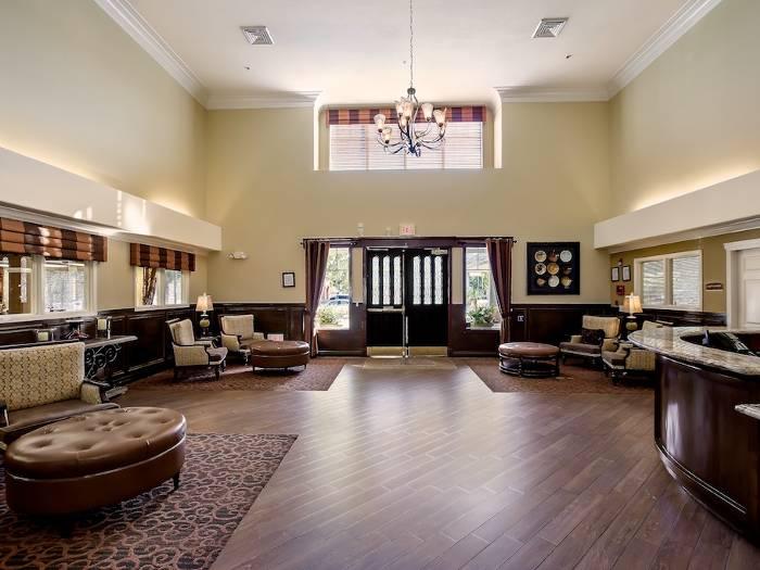 Pacifica Senior Living Chino Hills lobby in Chino Hills, California