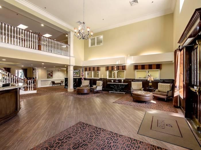 Lobby at Pacifica Senior Living Chino Hills in Chino Hills, CA