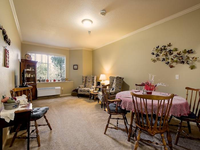 Floor plans are well decorated at Pacifica Senior Living Chino Hills