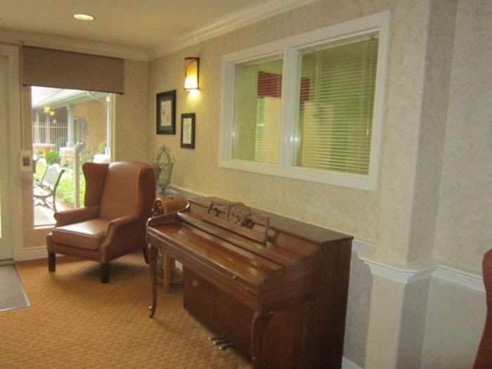 Piano at Pacifica Senior Living Chino Hills