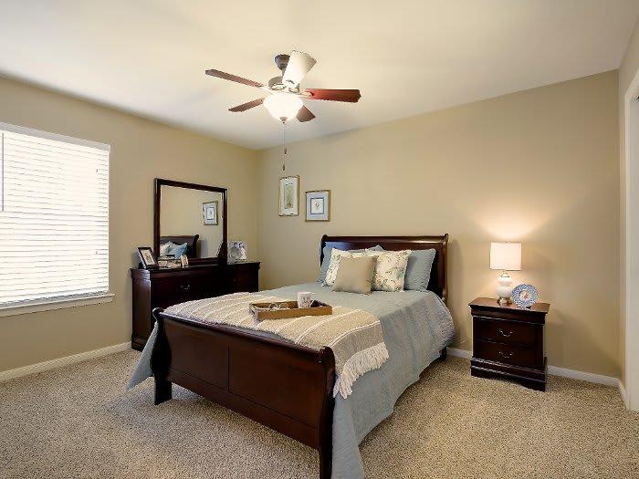 Bedroom at NewForest Estates in San Antonio, TX