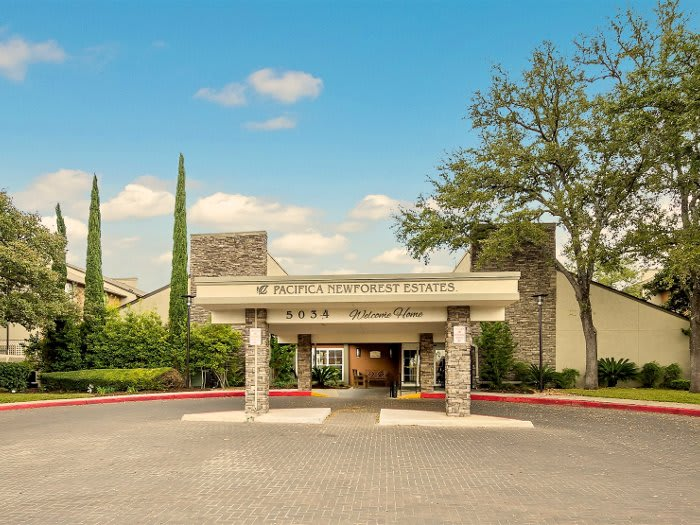 NewForest Estates entrance in San Antonio, TX