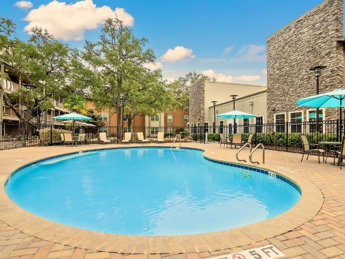 Poolside at NewForest Estates in San Antonio, TX