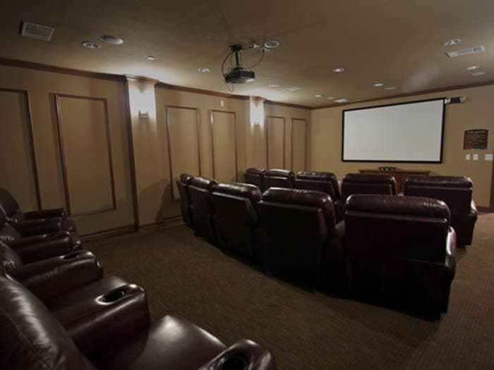 Movie theatre at Meridian at Kessler Park