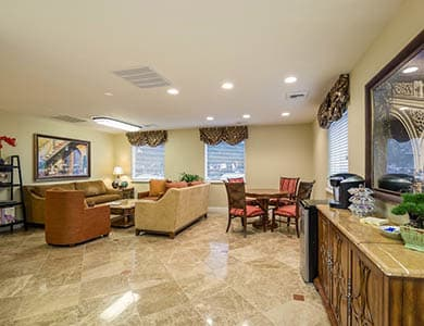 Wonderful and relaxing atmosphere at Pacifica Senior Living Vacaville